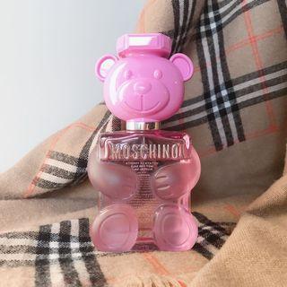 MOSCHINO TOY 2 熊芯未泯2 Bubble Gum 粉紅泡泡熊 100ml (tester/T包/環保盒/無盒有蓋)