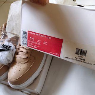 Nike Air Force 1 Low Vachetta Tan Like New