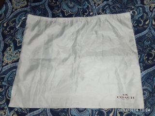 Original coach dust bag only.