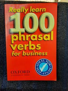 Phrasal verbs for business