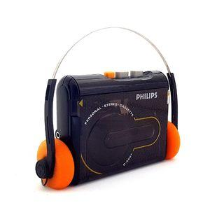 RARE Vintage Brand New Philips Walkman D6607 Personal Stereo Cassette Tape Player with Headphones