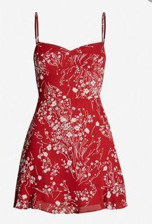 Reformation Red Dress