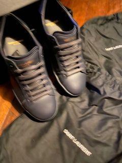 Saint Laurent SL01 Low Sneakers - Midnight Blue