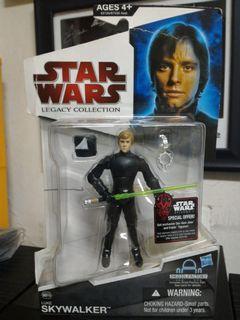 Star Wars 3.75 - Luke Skywalker Jedi knight  Legacy collection