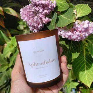 Sweet Vanilla Soy Candle @illuminare.ph