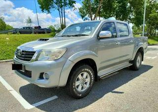 TOYOTA HILUX DOUBLE CAB 2.5MT 2013TH INTERCOOLER
