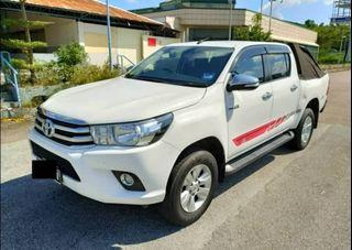 TOYOTA HILUX DOUBLE CAB G SPEC 4X4 2.4AT 2017TH