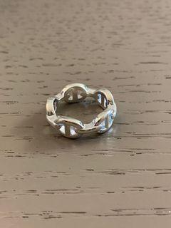UNI's 純銀豬鼻子重工戒 寬戒 歐美飾品 純銀戒指