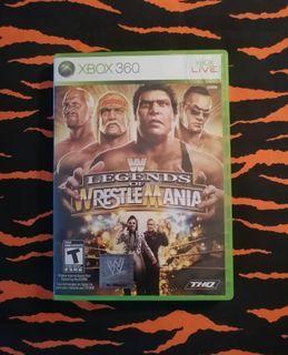 XBox 360  - WWE: Legends Of Wrestlemania