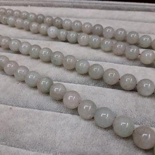 👩🦳108顆淺色 東菱玉 10mm長輩收藏品念珠