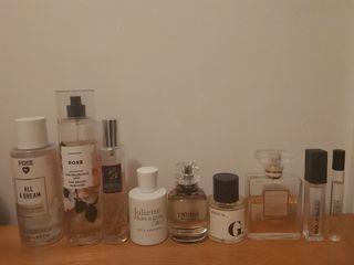 10 perfumes/bundle deal!!