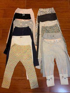 12 girl leggings take-all