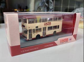 1:76 九巴模型77K熱狗巴士