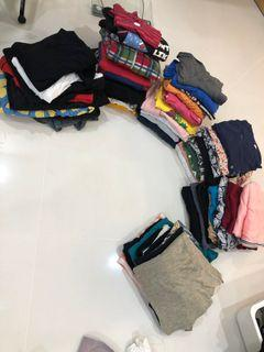 60pc of tops & bottoms