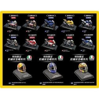 7-11 羅西 rossi ducadi 安全帽模型盒