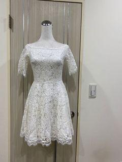 全新蕾絲洋裝禮服