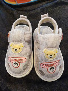 寶寶學步小涼鞋