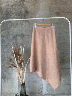 棉麻造型舒適裙