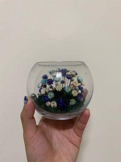 玻璃乾燥花