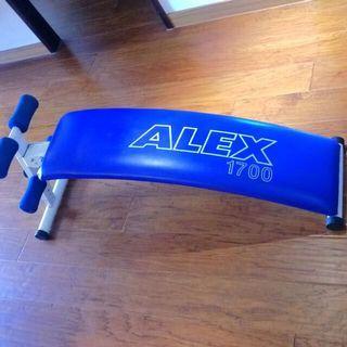 原價 2,590 德國 ALEX 1700多功能彎曲仰臥起坐板