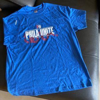 全新 美國nba費城76人 76ers TShirt  2019 NBA  開場賽現場Tshirt  美國帶回 男T Size:XL