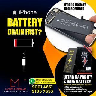💯 cheapest IPhone battery repair , Iphone Battery , iPhone 6/6+/6s/6s+/7/7+/8/8+/x/xr/xs/xsmax/11/12/12mini/12pro/12promax