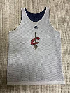 Adidas NBA Cavaliers reversible jersey 騎士隊 練習球衣 雙面穿 籃球 lebron James LBJ