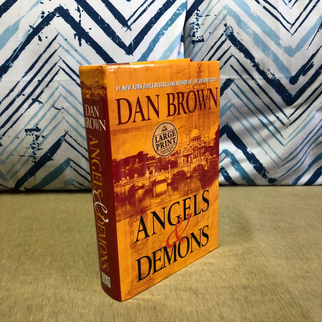Angels and Demons by Dan Brown HB, Hobbies & Toys, Books ...