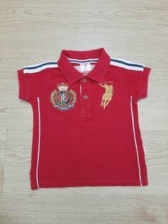 Baby Shirt Polo 6-12 Good Quality