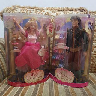 Barbie 12 dancing princess - couple
