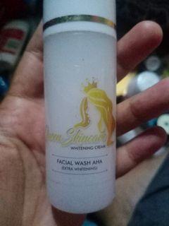 Facisl wash aha( extra whatening)