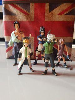 Figure Naruto and Friends