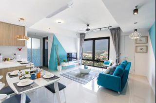 Freehold Condo   RM1,200 Passive Income @ 0 Down Payment