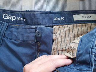 GAP仿舊修身長褲