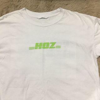 HDZ字樣白色上衣
