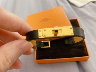 Hermes 黑金手環