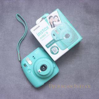Instax Mini 9 Aqua Green