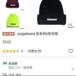 Judge毛帽