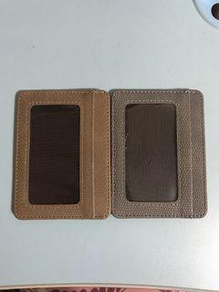 Khaki & Grey Card Holders