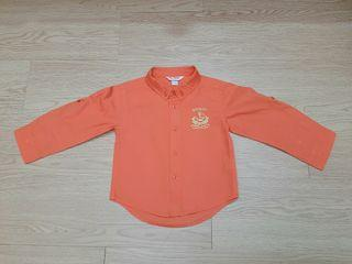 Kids Shirt Baju Budak Poney Orange 12-18 Month