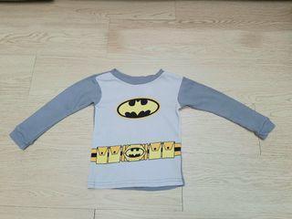 Kids Shirt Long Sleeve Batman