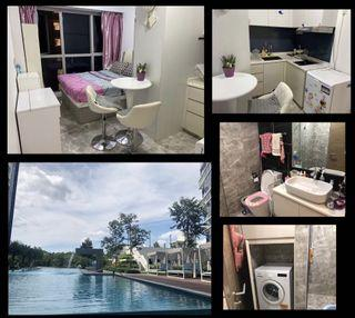 Master Bedroom Suite for rent (attached kitchen/toilet/washing machine inside the room) -  The Santorini  (Tampines Ave10)