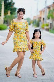 Mother & Daughter Dolly Dress