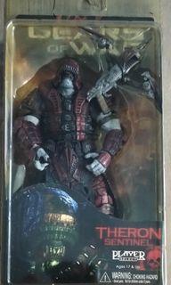 NECA GOW Theron Sentinel Helmet MISB Gears of War Series 2 not* McFarlane Mattel Hasbro