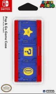 Nintendo Switch Mario - Game Cartridge Game Card Storage Box - Pop & Go Game Card Case
