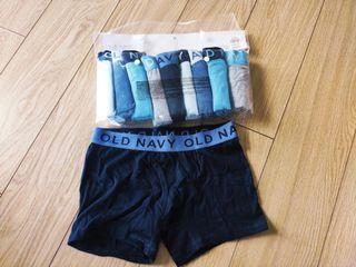 Old Navy Boxer Briefs 10 Pack for Boys, Medium, Blues and Grays