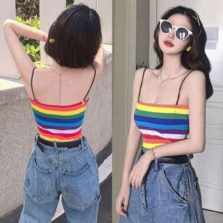 Rainbow tank top