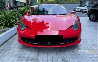 Sambung Bayar Berdeposit Ferrari 458 Spider 2013