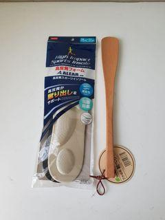 High Impact Sports Insole + Shoe Horn