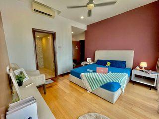 💢Stress Everytime Get A Bad Housemate! No Share Room! You in A Right Way Now🦸♀️! 💺Fully Furnished Master Bedroom with Attached Bathroom🛀🏻!!